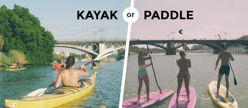 Kayak or Paddle